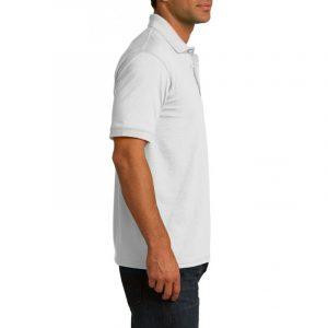 Рубашка поло белая, 200 г/м2