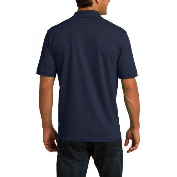 Рубашка поло темно-синяя, 200 г/м2