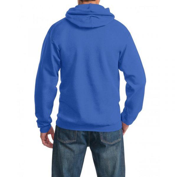 Толстовка с капюшоном ярко-синяя, 260 г/м2