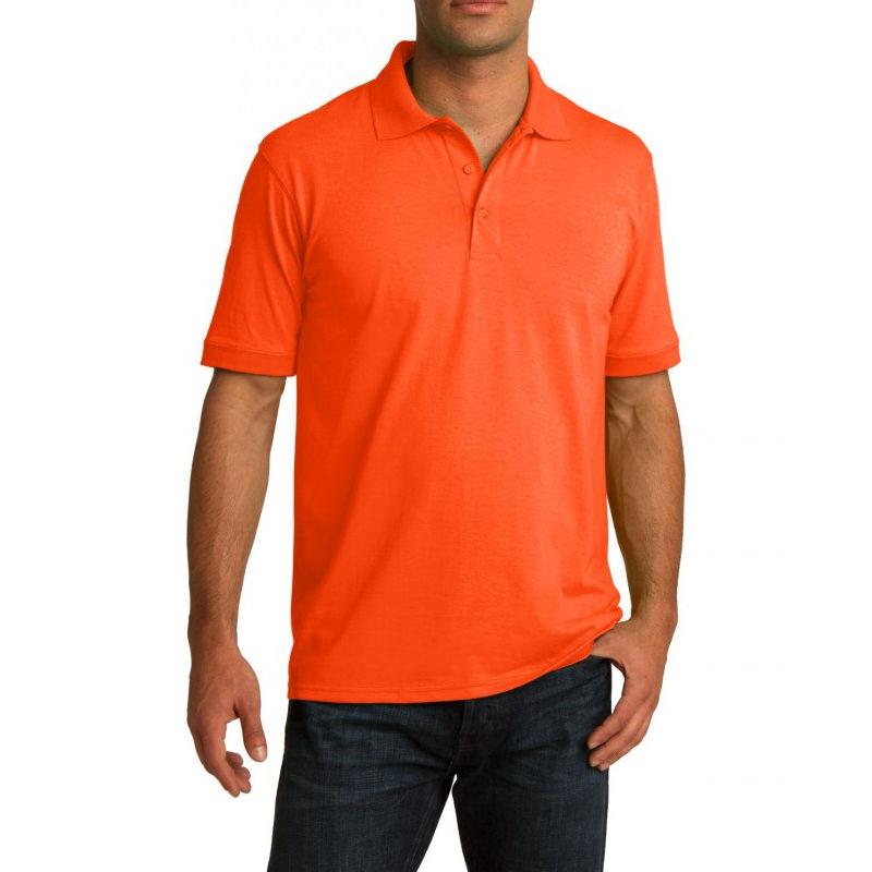 Рубашка поло оранжевая, 200 г/м2