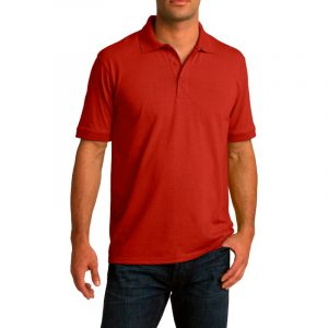 Рубашка поло красная, 200 г/м2