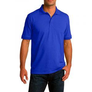 Рубашка поло ярко-синяя, 200 г/м2