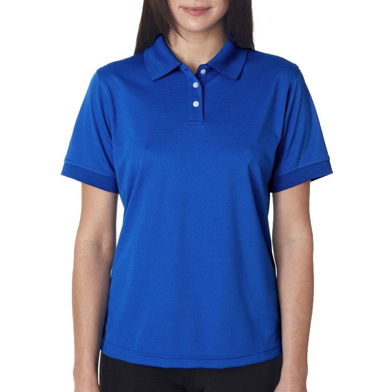 Рубашка поло ярко-синяя