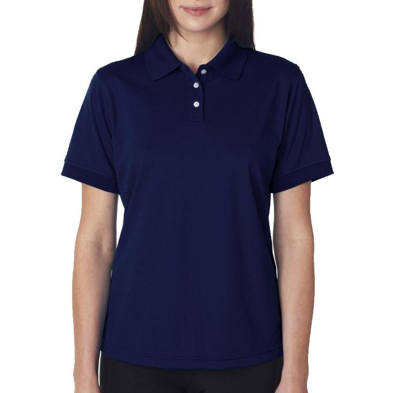 Рубашка поло темно-синяя
