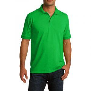 Рубашка поло салатовая, 200 г/м2