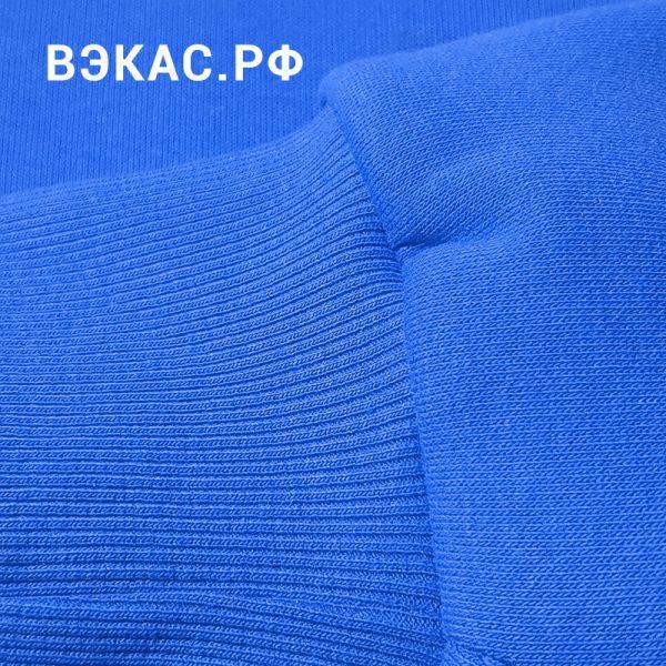 толстовка ВЭКАС синяя рукав