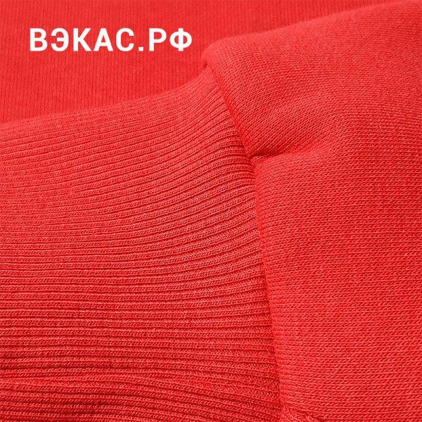 толстовка ВЭКАС красная рукав 2
